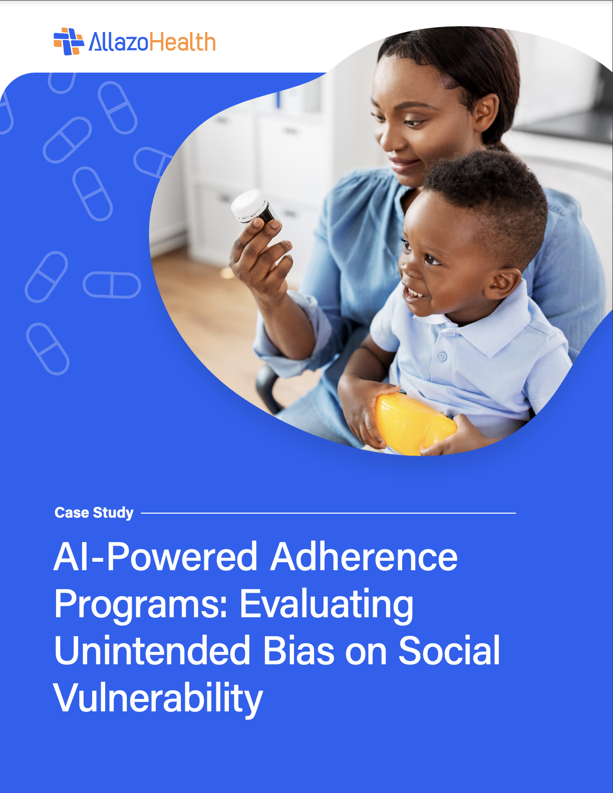 AI-Powered Adherence Program: Evaluating Unintended Bias on Social Vulnerability